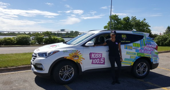 The KC Security- KiSS 100.5 Summer Cruiser