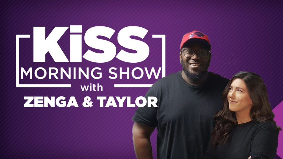 KiSS Mornings with Zenga & Taylor