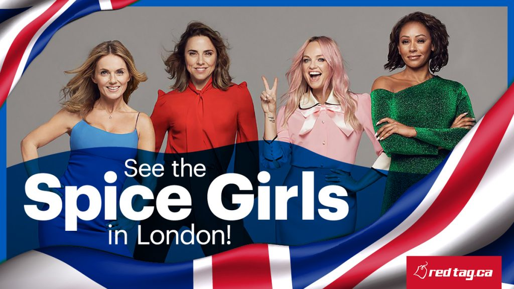 WIN A TRIP TO SEE THE SPICE GIRLS IN LONDON - KiSS 100 5 Soo